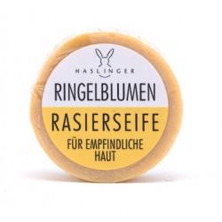 Haslinger, Nagietkowe mydło do golenia 60g dla skóry wrażliwej