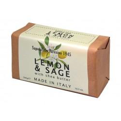 Saponificio Varesino Lemon & Sage Mydło naturalne cytryna i szałwia 300g