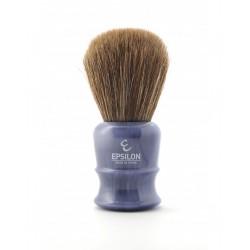Epsilon Brown Horse Hair Blue Shaving Brush Knot 26mm