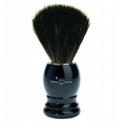 Pędzel do golenia, rączka plastikowa, kolor czarny, czarny synthetic