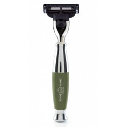 Gillette® Mach3® maszynka, Zielony, chromowany