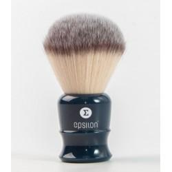 Epsilon Silvertip Fibre syntetyk pędzel do golenia, niebieski uchwyt, 51/26mm