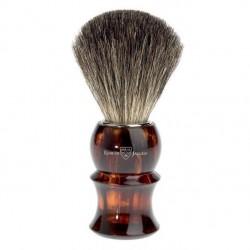 EJ, 81P13 Pędzel do golenia E.Jagger, pure badger, imitacja skorupy żółwia