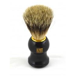 Margo czarny pędzel do golenia Super Badger