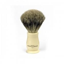 EJ, Pędzel do golenia IVCSBbb Chatsworth best badger, kość słoniowa