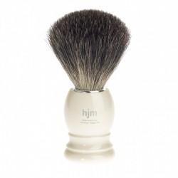 Mühle/HJM 181P27 Pędzel do golenia Pure Badger kość słoniowa