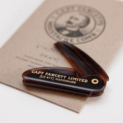 Captain Fawcett's składany grzebień do wąsów