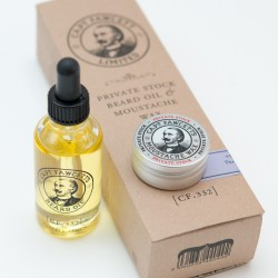 Captain Fawcett Zestaw olejek do brody 50ml  i wosk 15ml