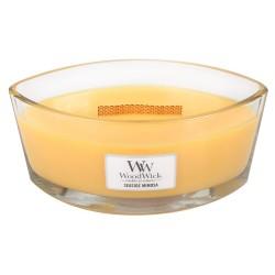 WoodWick®, Świeca Hearthwick - Soczyste cytrusy i szampan, 50 godzin