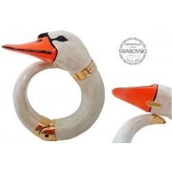 Mosiężna bransoletka Pasotti Br K27 - Swan Bracelet
