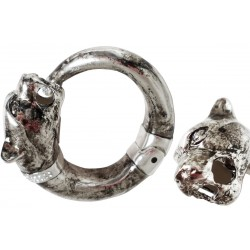 Mosiężna bransoletka Pasotti Br K1V - Vintage Panther Bracelet