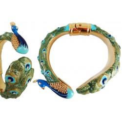 Mosiężna bransoletka Pasotti Br K18 - Peacock Bracelet