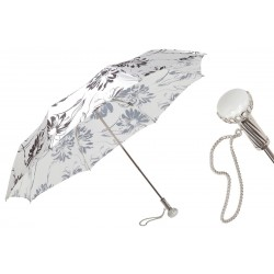 Parasol Pasotti Black and White Flowered, 257 56799-1 A29