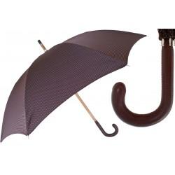 Parasol Pasotti Bespoke Brown, Brown Leather Handle, 142 Pto CN11 P