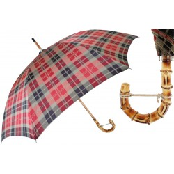 Parasol Pasotti Tartan, Bamboo Handle, 142 Celtic-5 B