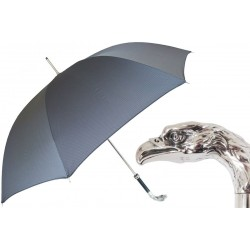 Parasol Pasotti  Grey, Silver Eagle Handle, 478 6768-7 W18