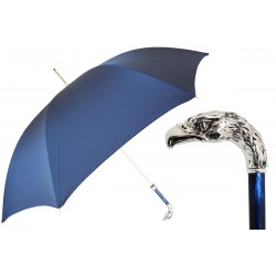 Parasol Pasotti  Blue, Silver Eagle Handle, 478 6768-2 W18PB