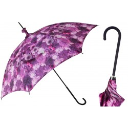 Parasol Pasotti Manual Opening Purple Flowers, Rainproof, 354ne 55275-901 D1