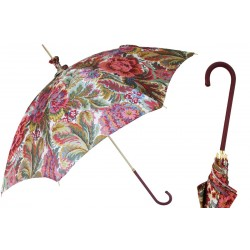 Parasol Pasotti Manual Opening Paisley Flowers, Rainproof, 354or 58112-19 D1