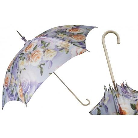Parasol Pasotti Manual Opening Flowered, Rainproof, 354ni 5A071-4 D1