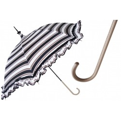 Parasol Pasotti Manual Opening Nautical Style, Rainproof, 353ne 52027-54 D1