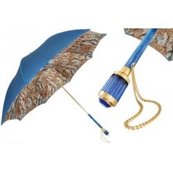 Parasol Pasotti Blue Animalier, podwójny materiał, 189 56084-4 S11