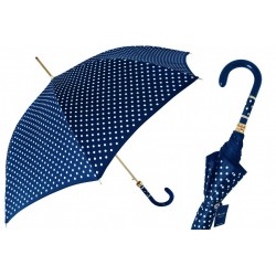 Parasol Pasotti Navy Polka Dot, 16 1408-9 F