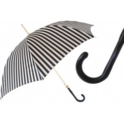Parasol Pasotti Black and White Striped, 460 21352-1 Z16