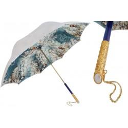 Parasol Pasotti Vintage Pearled, podwójny materiał, 189 5D566-1 U5
