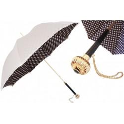 Parasol Pasotti Classic Colors Polka Dots, podwójny materiał, 189 55874-164 U14