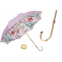 Parasol Pasotti Womens in Lavender Color, podwójny materiał, 189 5E836-17 P5