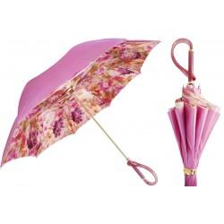 Parasol Pasotti Pink Flower Printed, podwójny materiał, 189 28-1 A