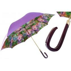 Parasol Pasotti Flower Printed Purple, podwójny materiał, 189 5D568-1 F38