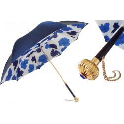 Parasol Pasotti Blue Flowers, podwójny materiał, 189 5E358-2 U14