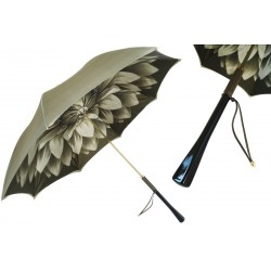 Parasol Pasotti Green Dahlia, podwójny materiał, 189 21273-13 H15