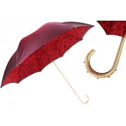 Parasol Pasotti Red Roses, podwójny materiał, 189 50884-1 U2