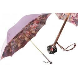 Parasol Pasotti Artisanal Flowers, podwójny materiał, 189 5D568-3 U16