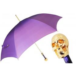 Parasol Pasotti Golden Skull Purple Ombre, 460 21284-14 W33PV