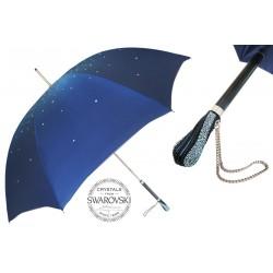 Parasol Pasotti Blue Swarovski, podwójny materiał, 185N 21284-17 S8