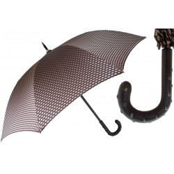 Parasol Pasotti  Design Mens  with Studded Leather Handle, 145 Ate-1 H39