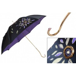 Parasol Pasotti Luxury Hand Painted, podwójny materiał, 344 21284-14 Plat-34 C21
