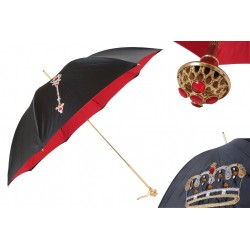 Parasol Pasotti Luxurious with Crown Embroidery, 228 Plat-26 Plat-34 U13